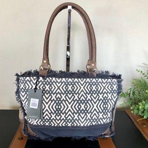 Handbags - X design Myra bag handbag canvas purses NWT
